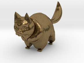 cute cat in Natural Bronze: 1:12