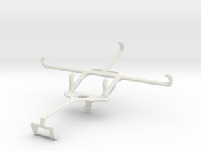 Controller mount for Xbox One S & Intex Aqua GenX  in White Natural Versatile Plastic