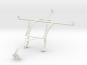 Controller mount for Xbox 360 & QMobile Noir Z9 in White Natural Versatile Plastic