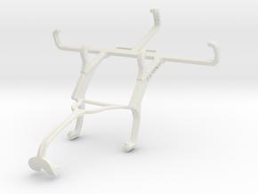Controller mount for Xbox 360 & QMobile T200 Bolt in White Natural Versatile Plastic