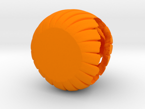 Desk O Lantern in Orange Processed Versatile Plastic
