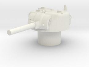Sherman M4 Turret 15mm / 1/100 in White Natural Versatile Plastic