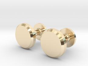 Milnerfield Hawking Cufflinks - Pair in 14k Gold Plated Brass
