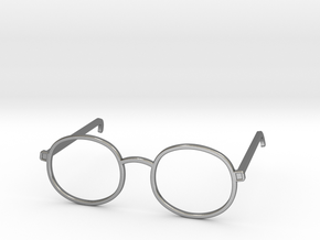 Glasses for the Near-Sighted Turdle in Polished Silver