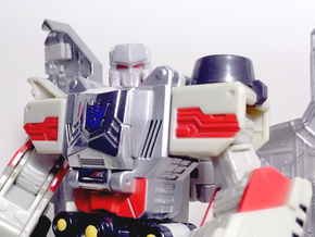 TR Neck Adaptor for Classics Voyager Megatron in White Processed Versatile Plastic