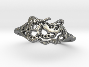 snake ring in Natural Silver