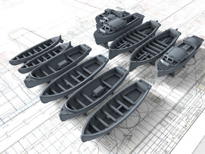 1/400 Scale HMS Victorious Boat Set in Smoothest Fine Detail Plastic