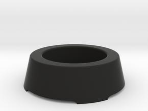 EMPI VDM steering wheel hub cap in Black Natural Versatile Plastic