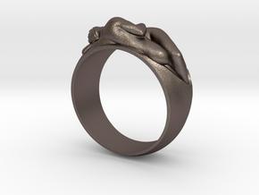 Ring EDEN carrera y carrera in Polished Bronzed Silver Steel