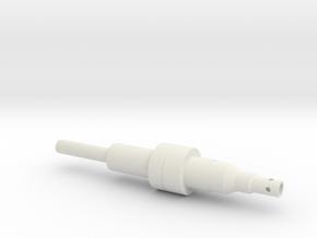 ESB FT Upper Tube in White Natural Versatile Plastic