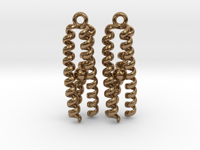 Metal-bound trimeric coiled coil in Natural Brass