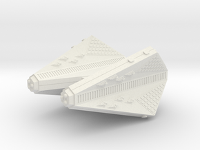 3125 Scale Tholian Heavy Carrier (CVA) SRZ in White Natural Versatile Plastic