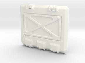 Rhino Armored Rear Hatch in White Processed Versatile Plastic