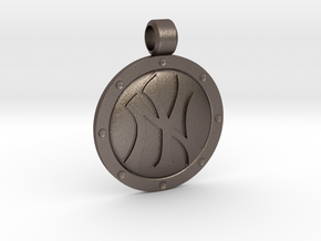 NY Pendant in Stainless Steel