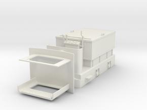 Vikholm battery loco  in White Natural Versatile Plastic: 1:24