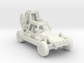 Desert Patrol Vehicle v1 1:160 scale in White Strong & Flexible