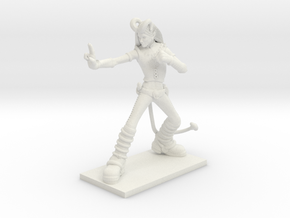 Fantasy Figures 05 - Tiefling in White Natural Versatile Plastic