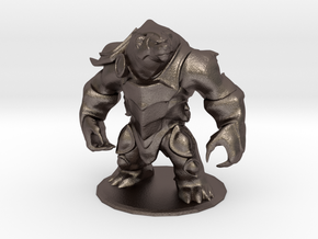 Classic Volibear in Polished Bronzed Silver Steel