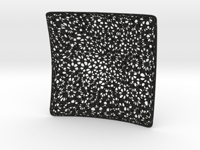 NDMESH_NURBS Cubehole FlatRtwicesub in Black Strong & Flexible