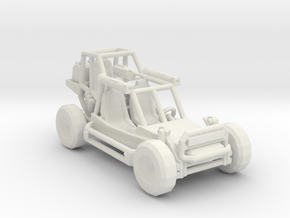 Light Strike Vehicle v2 1:220 scale in White Natural Versatile Plastic