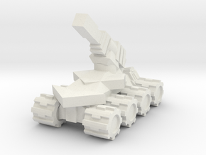 RB Scaled up Artillery in White Natural Versatile Plastic