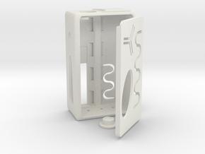 SwedishVaper SquonkER Style C in White Natural Versatile Plastic