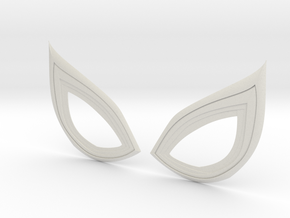 Insomniac Spiderman Lenses (closed) in White Natural Versatile Plastic