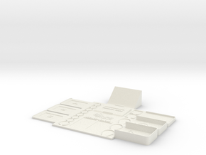 GoW Game Master board piece in White Natural Versatile Plastic
