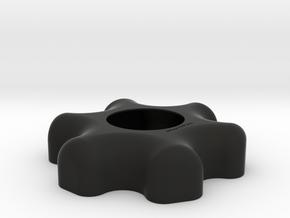 KanDao Obsidian Lens Cover (cap) in Black Natural Versatile Plastic