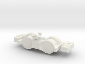 Omni Scale General Salvage Tug SRZ in White Natural Versatile Plastic