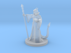 Tiefling Mage Male in Smooth Fine Detail Plastic
