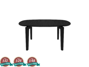 Miniature Join Coffee Table FH01 in White Strong & Flexible: 1:24