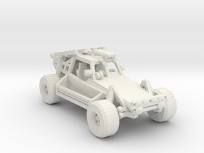 Advance Light Strike Vehicle v2 1:220 scale in White Natural Versatile Plastic