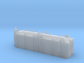 Speicherstadt Hamburg Block V 1/1250 scale in Smooth Fine Detail Plastic