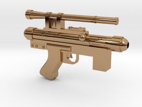 Star Wars Blaster SE-14C 1:2.5 scale in Polished Brass
