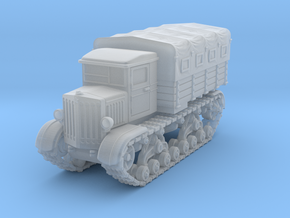Voroshilovetz Tractor (1:144) with canopy in Smooth Fine Detail Plastic