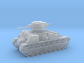 Vickers Medium Mk.C (1:144) in Smooth Fine Detail Plastic