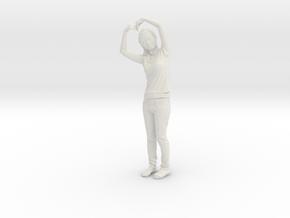 Pretty Girl - 404 in White Natural Versatile Plastic