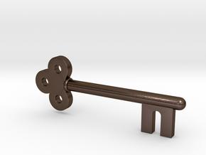 Lady Tremaine's Attic Key (Cinderella, 1950) in Polished Bronze Steel