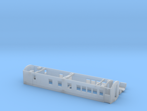CNR C-1 Mail-Coach Body (HO Scale) in Smooth Fine Detail Plastic