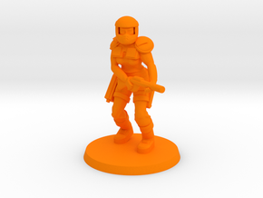 Bounty Hunter 'Veruca Assault' in Orange Processed Versatile Plastic