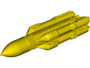 Energia [11K25] Heavy-Lift Launch Vehicle in White Natural Versatile Plastic: Small