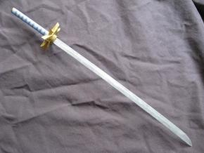 Katana5 in White Natural Versatile Plastic