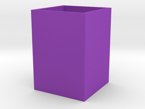 large pot in Purple Processed Versatile Plastic