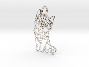 creative pendant cat in Platinum