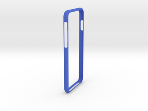 iphone 6 and 6S Bumper in Blue Processed Versatile Plastic