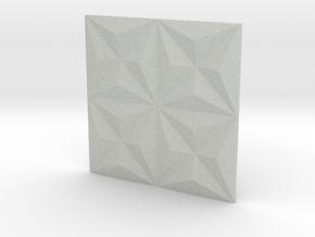 3d Tile 1_sand in Full Color Sandstone