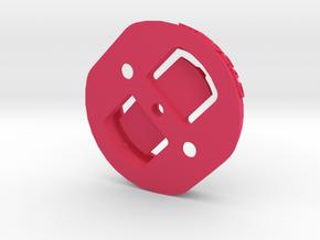 Garmin Quarter Turn Female Plate in Pink Processed Versatile Plastic