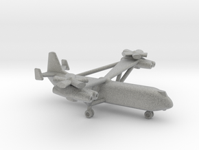 Mil V-12 (Homer) Heavy Lift Helicopter in Metallic Plastic: Small