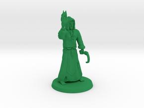 Druid in Green Processed Versatile Plastic